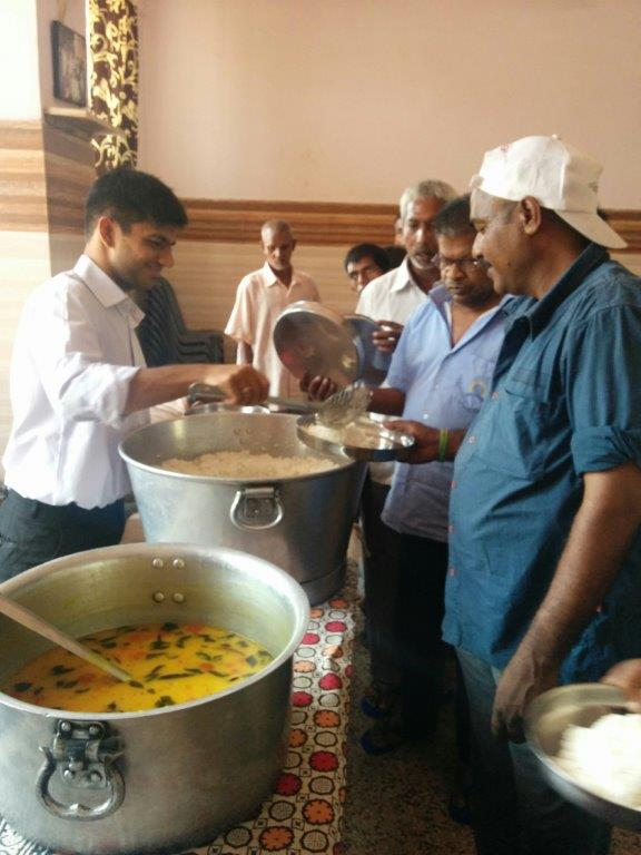 Providing Meals to Destitutes
